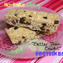 No-Bake Chewy Better Than Store Bought Protein Bars