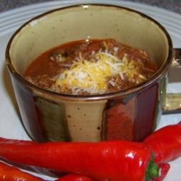 No Bean Low Carb Chili