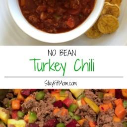 No Bean Turkey Chili