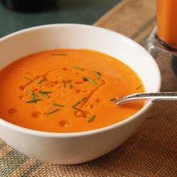 No-Cook Blender Tomato Soup
