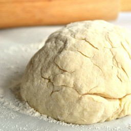 {No Yeast} Pizza Dough