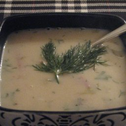 Nordic Potato Soup with Ham