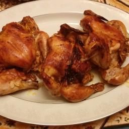 North African Cornish Hens