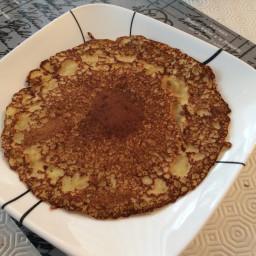 Norwegian style protein pancakes