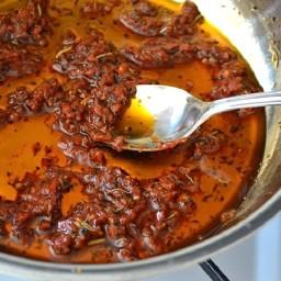 (not) sun dried tomato sauce