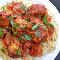 (not) meatballs  and  marinara