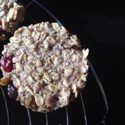 Nut Berry Breakfast Cookies