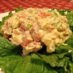 Nut Meat Salad