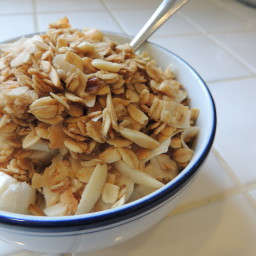 Nutty Coconut Granola