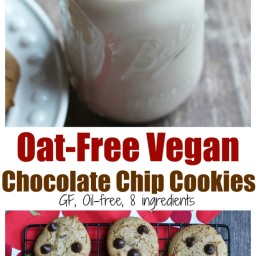 Oat-Free Vegan Classic Chocolate Chip Cookies