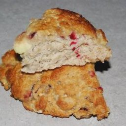 Oatmeal Apple Cranberry Scones (Motts)