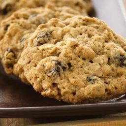 Oatmeal-Raisin Cookies (White Whole Wheat Flour)