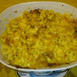 Old Fashioned Baked Macaroni And Cheese Bigoven