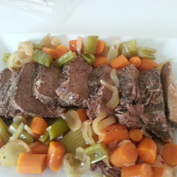 Old Fashioned Pot Roast In A Crock Pot