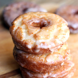 Old Fashioned Sour Cream Donuts