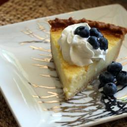 Old-Fashioned Fresh Lemon Buttermilk Pie