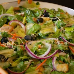 olive garden salad and dressing - Garden Salad Recipe