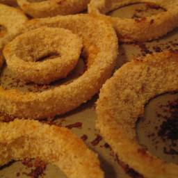 OMG Oven-Baked Onion RIngs