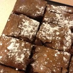 One Bowl Chocolate Brownies