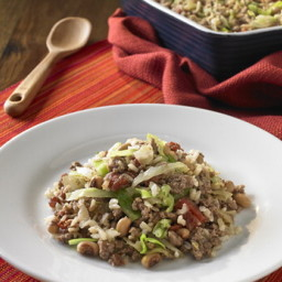 One-Dish Beefy Rice Casserole