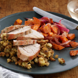 One-Pan Roasted Pork Supper