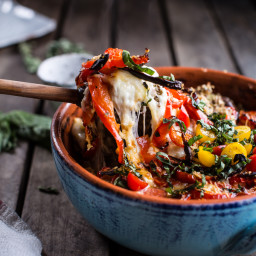 One-Pan Spring Tuscan Quinoa Bake.