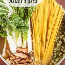 One-Pot Asian Pasta