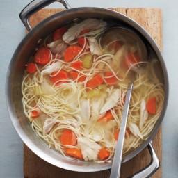 One-Pot Classic Chicken Noodle Soup