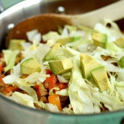 One Pot Mexican Beef and Vegetables