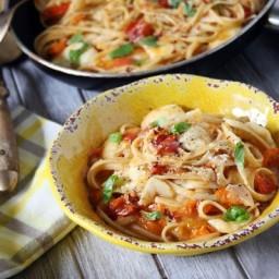 One-Pot Pasta Caprese
