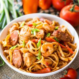 One Pot Spicy Pasta