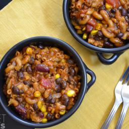 One Pot Chili Pasta