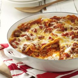 One Skillet Lasagna Recipe