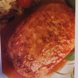 Orange Mustard Pork Chop Skillet