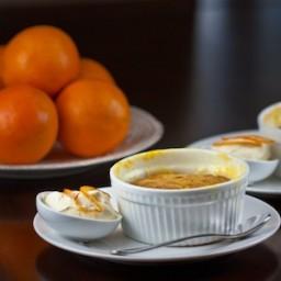 Orange Self Saucing Pudding