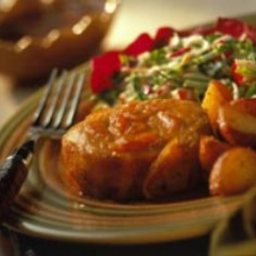 Orange-Sesame Pork Chops