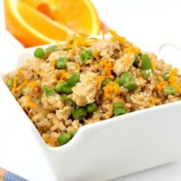 Orange Chicken Fried Rice