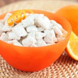 Orange Creamsicle Buddies (Variation on Muddy Buddies)
