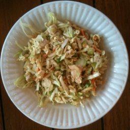 Oriental Chicken Cabbage Salad