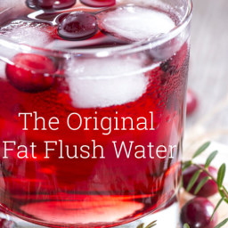 Original Fat Flush Water