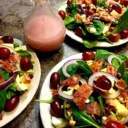 Our Favorite Spinach Salad with Poppy Seed Dressing