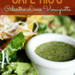 Our Version of Cafe Rio's Cilantro-Lime Vinaigrette