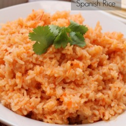 Oven Baked Spanish Rice