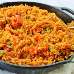 Oven Cooked Jollof Rice (Oven baked Jollof Rice)