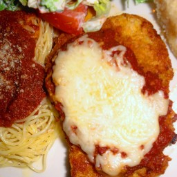 Oven Fried Chicken Parm