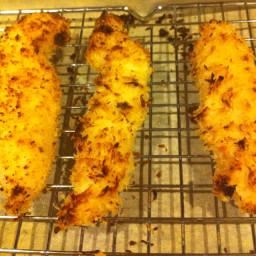 Oven-fried Panko Chicken Tenders