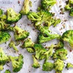 Oven Roasted Frozen Broccoli