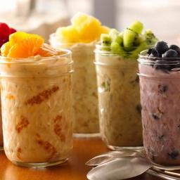 overnight fruit oatmeal