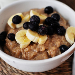 Overnight Maple & Brown Sugar Oatmeal
