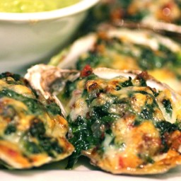 Oysters Rockefeller (Louisiana Entertains)